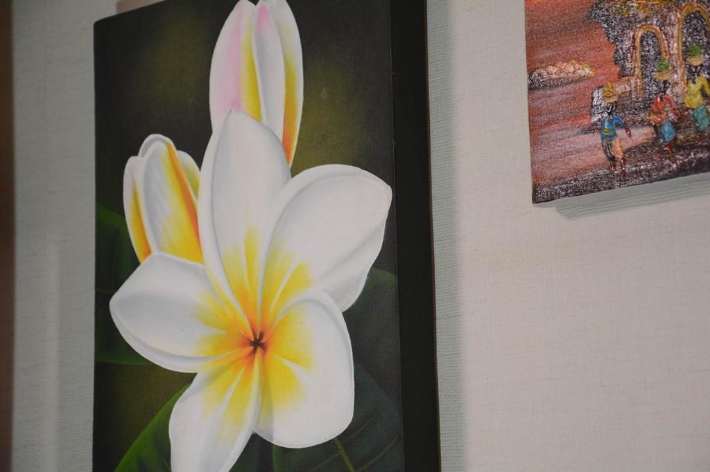 プルメリアの花があなたの部屋を明るくする