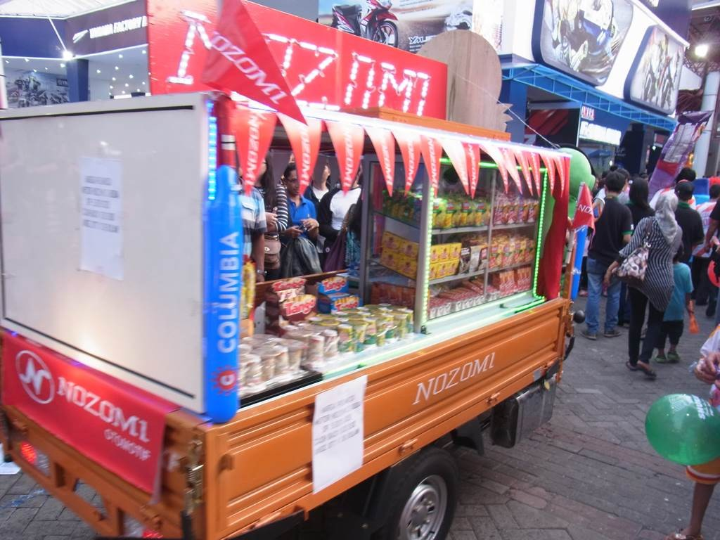 ブタウィ(Betawi)でお菓子販売