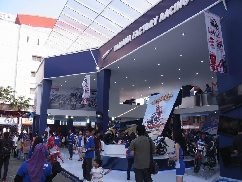 JKT EXPO のヤマハのお店