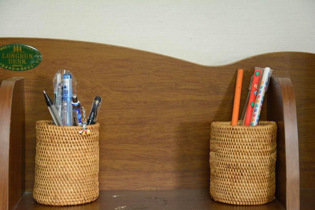複数のペンケースで使うペンの種類を分類する