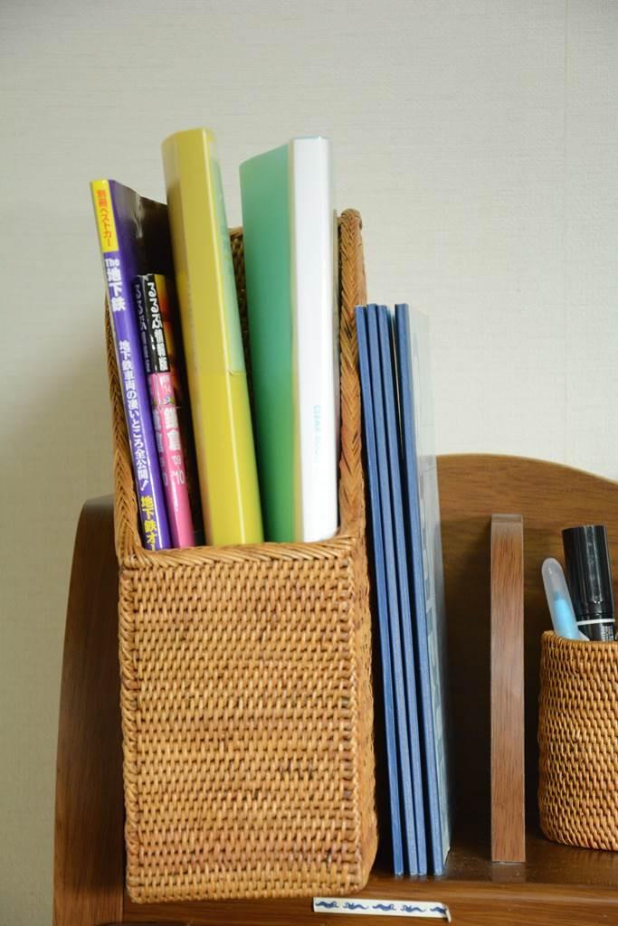 雑誌とノートをわけておくためのアタ本入れケース
