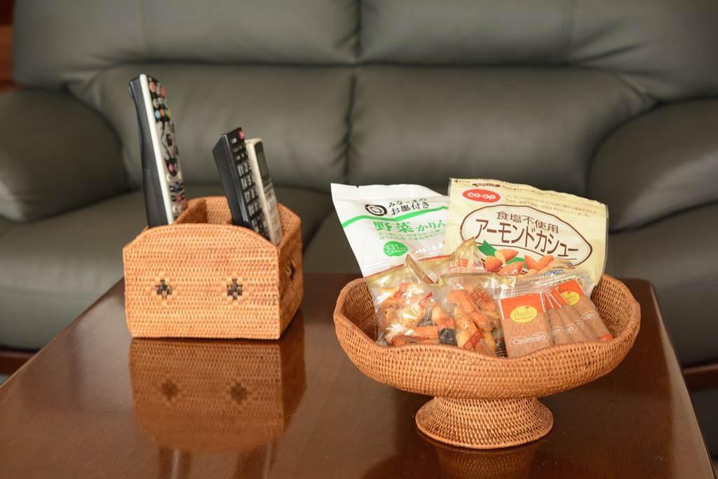 可愛くお菓子を提供するアタのバスケット