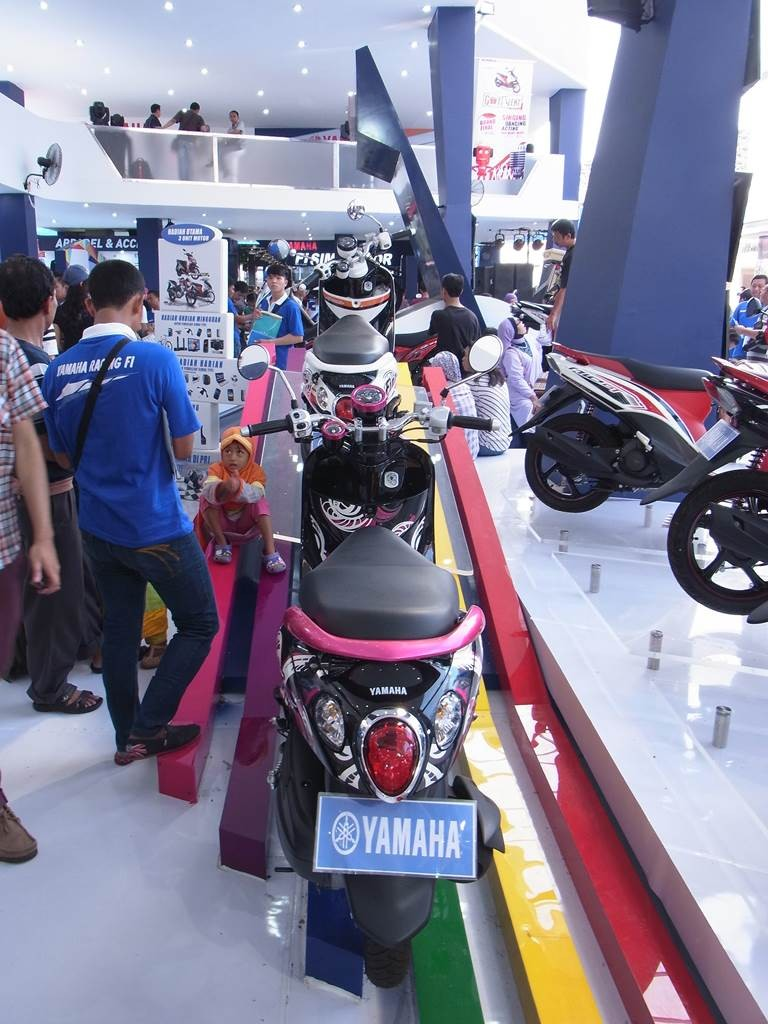 インドネシアのスクーター、ヤマハFino