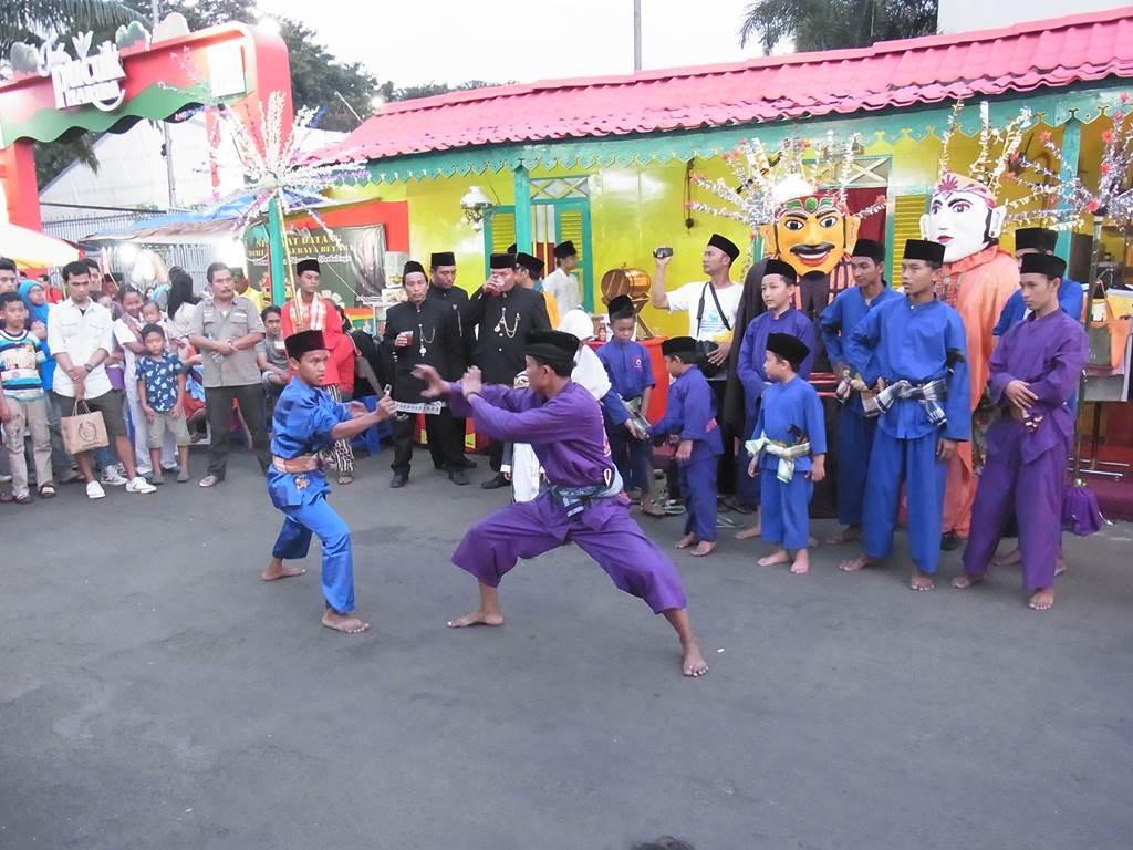 ジャカルタで空手対決
