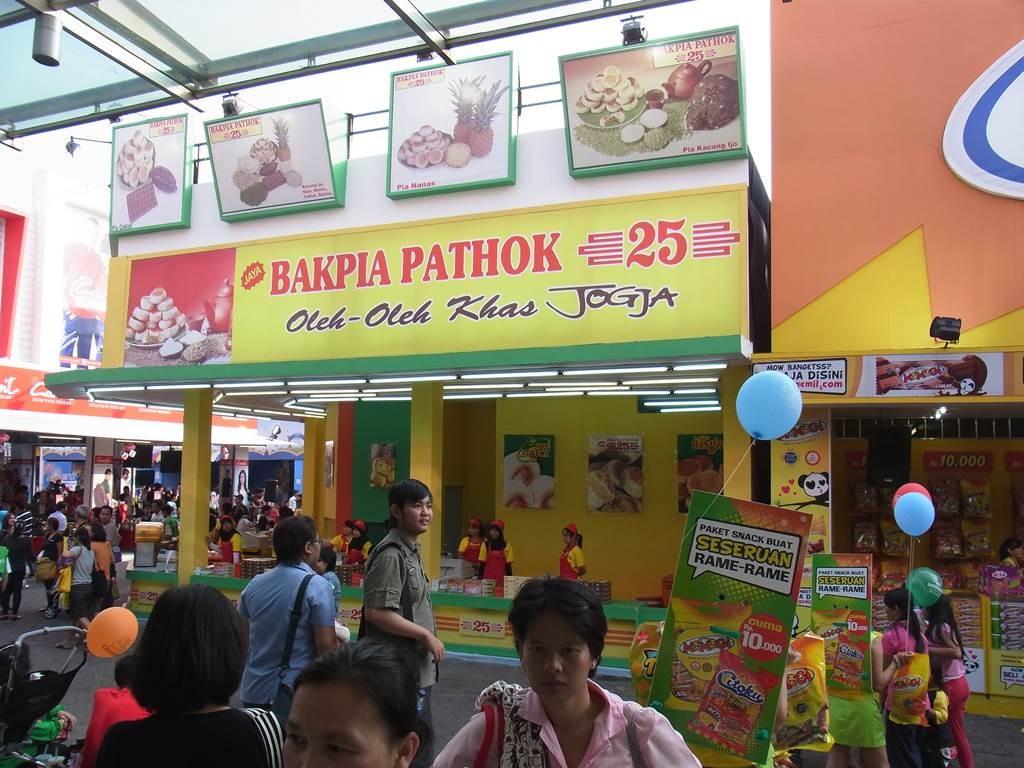 ジャカルタフェスティバルで jogja の食べ物のお店