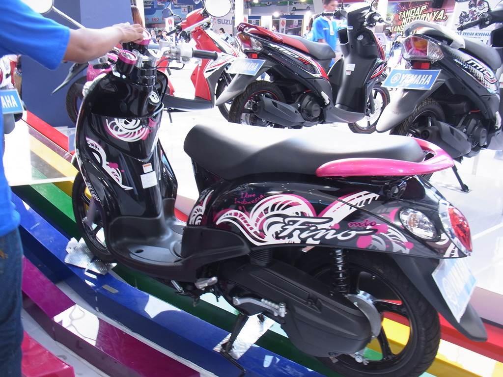 ヤマハのスクーターFino