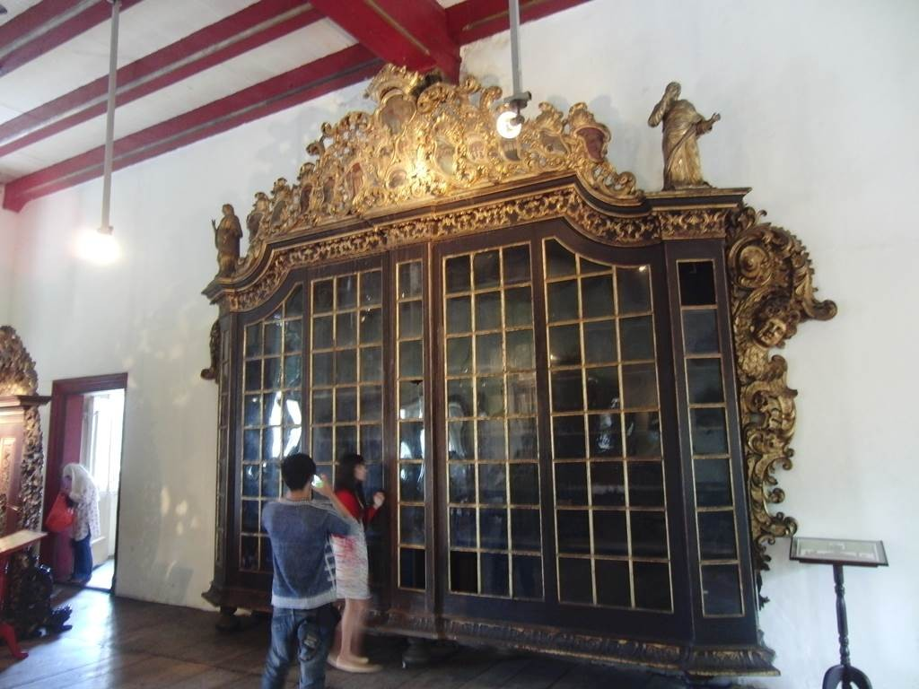 ジャカルタ歴史博物館の立派な建具