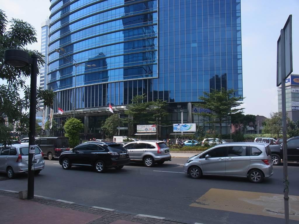 ICBC Jakartaのビル