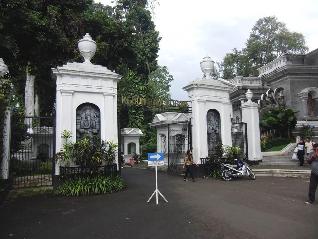 ボゴール植物園の出口