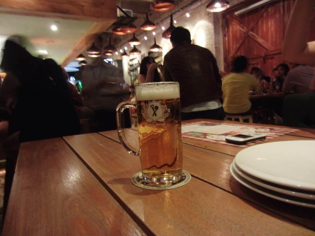 旅行中はビール