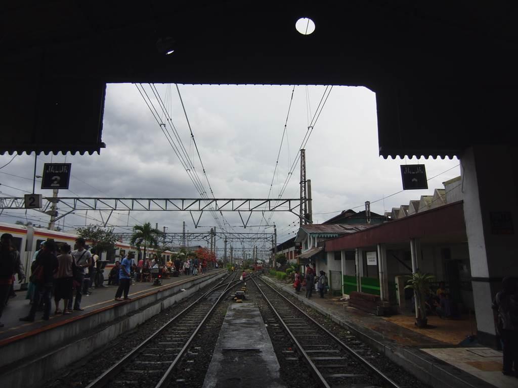 ボゴール駅の線路