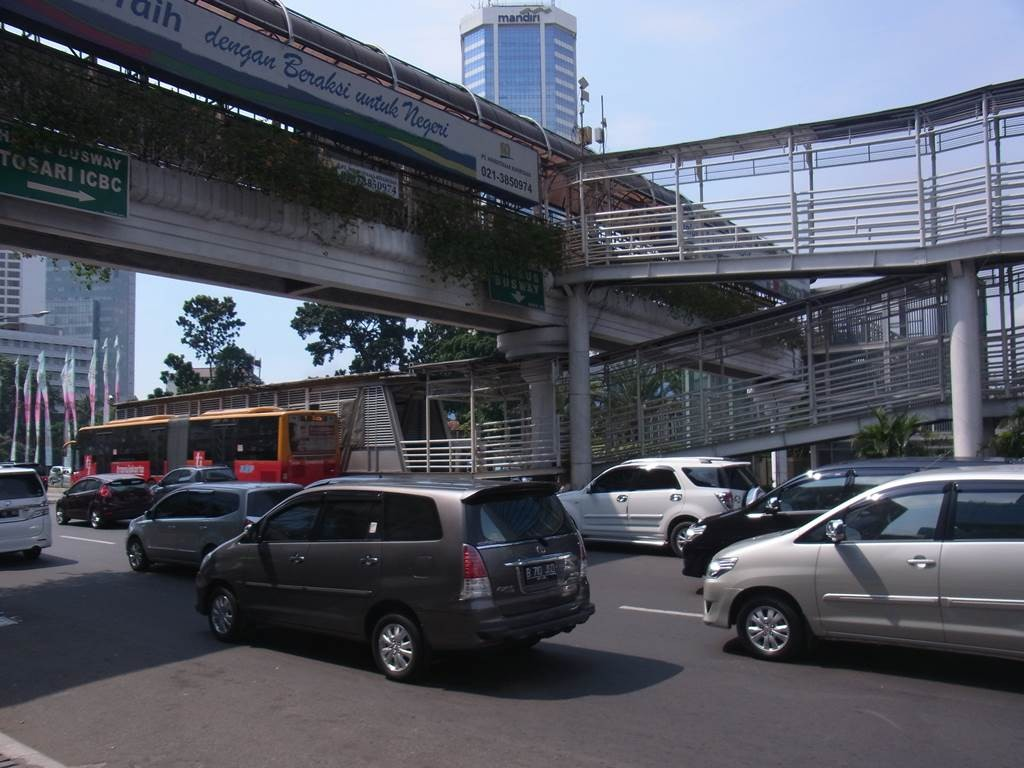 タマリン通りのバスレーン