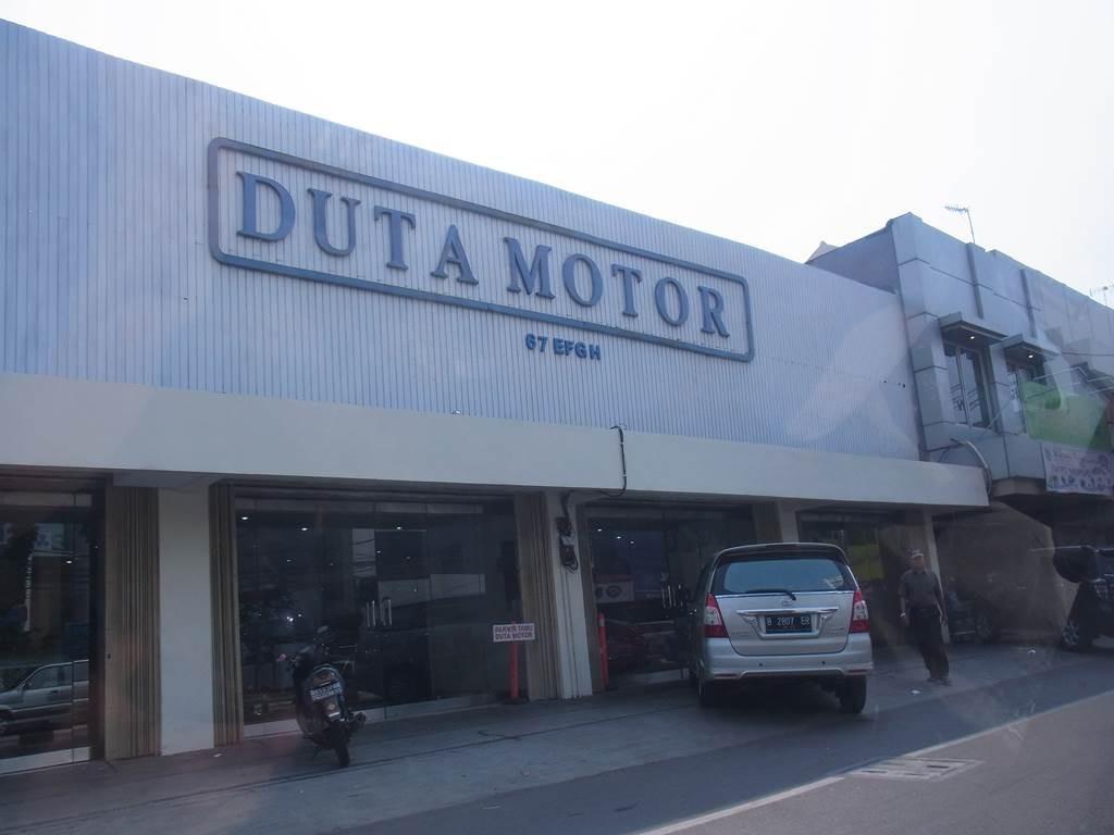 自動車売り場