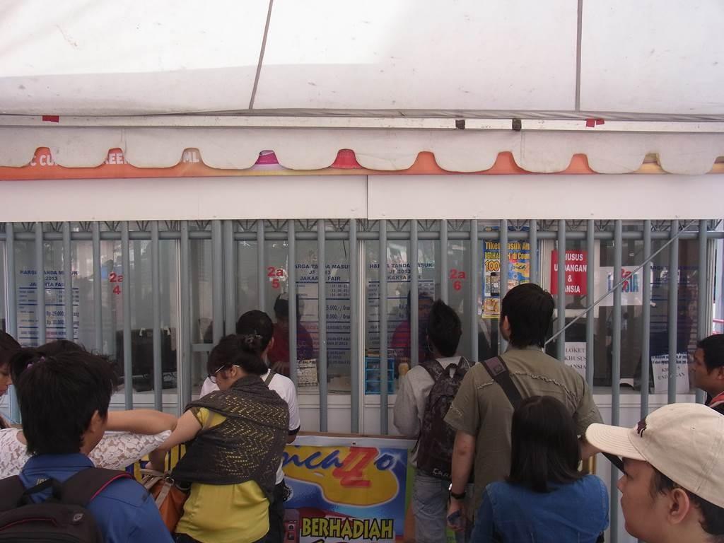 jkt expo のチケット売り場