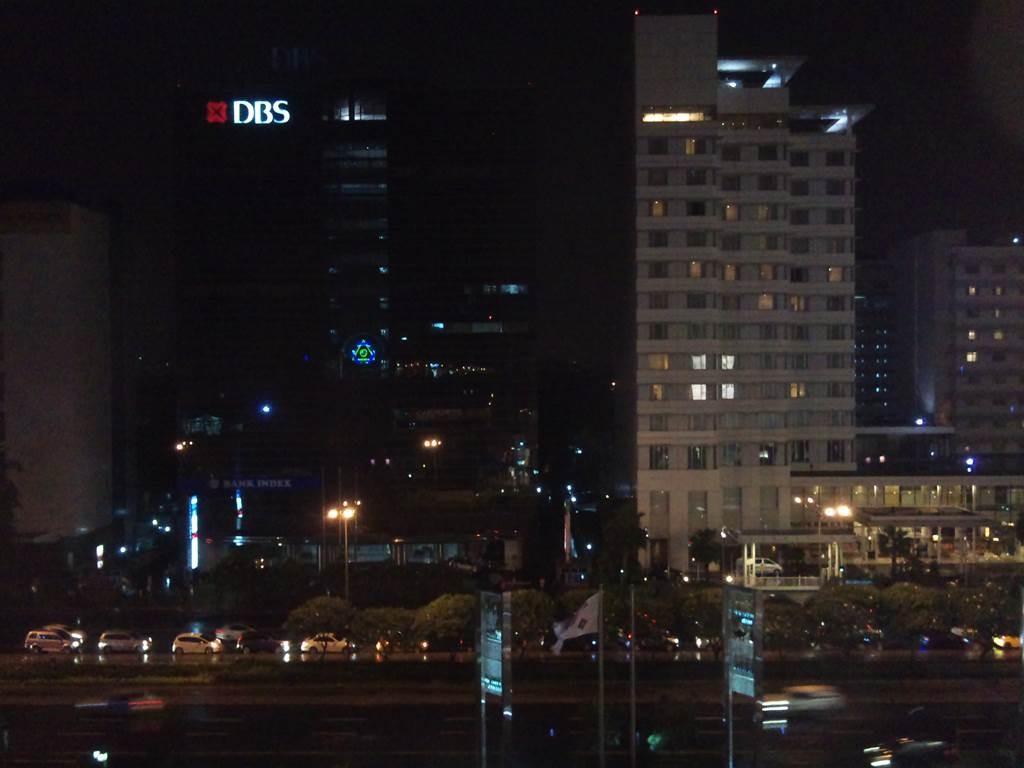 ジャカルタの夜景。FXから