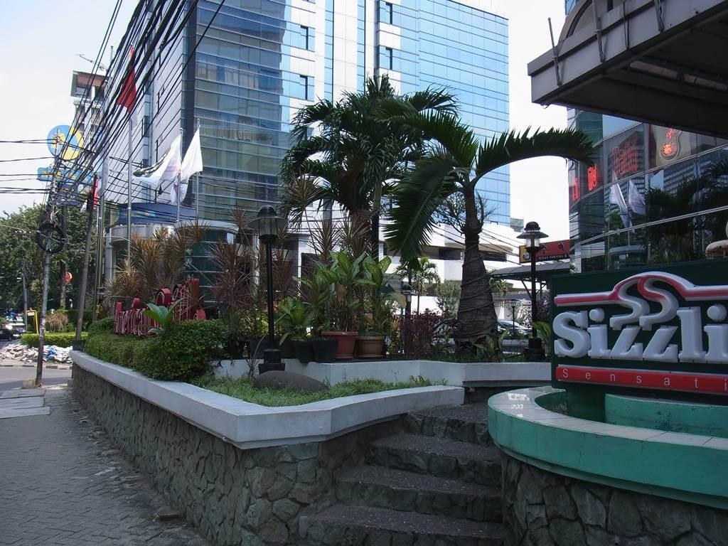 スマートホテルの植物