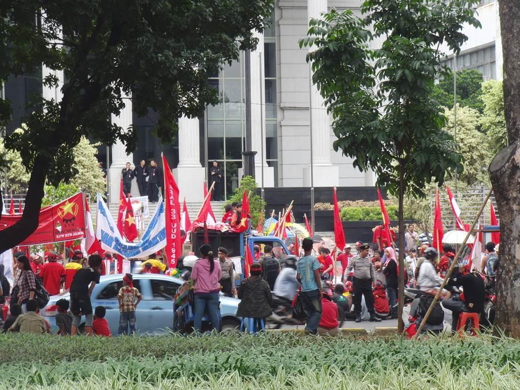 ジャカルタの抗議活動