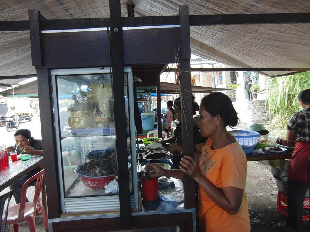 Blahbatuhのバリグリンのお店の様子