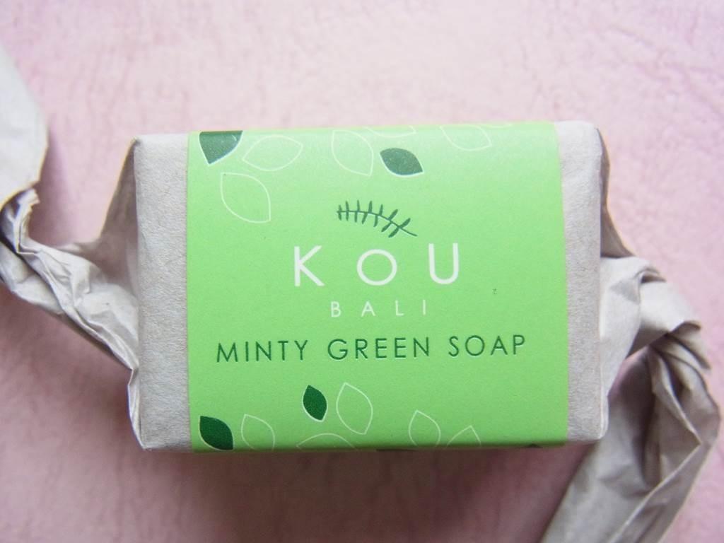バリ島のKOU石鹸ミント