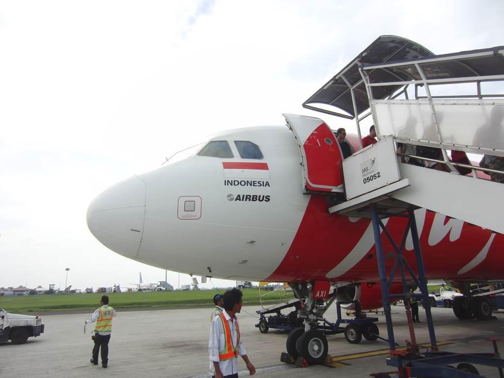 エアアジアでジャカルタに到着