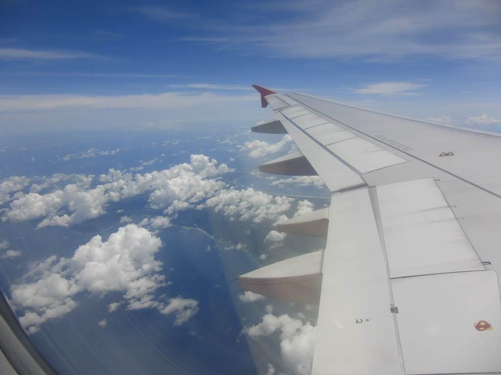 インドネシア上空