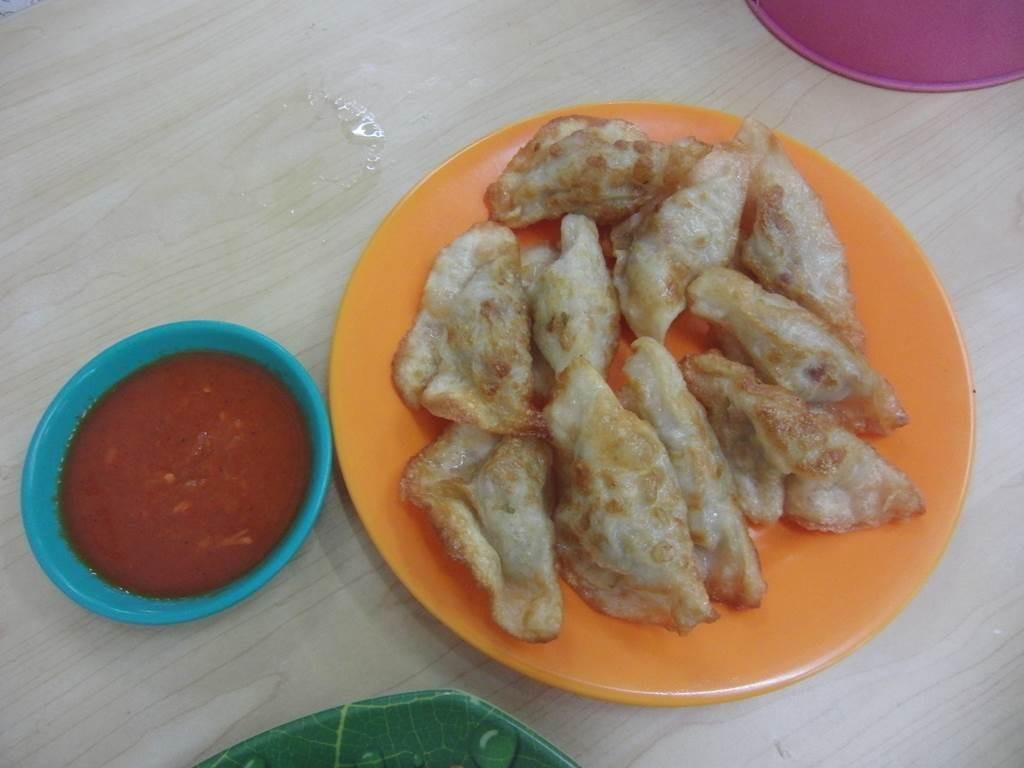 ジャカルタで食べた焼き餃子
