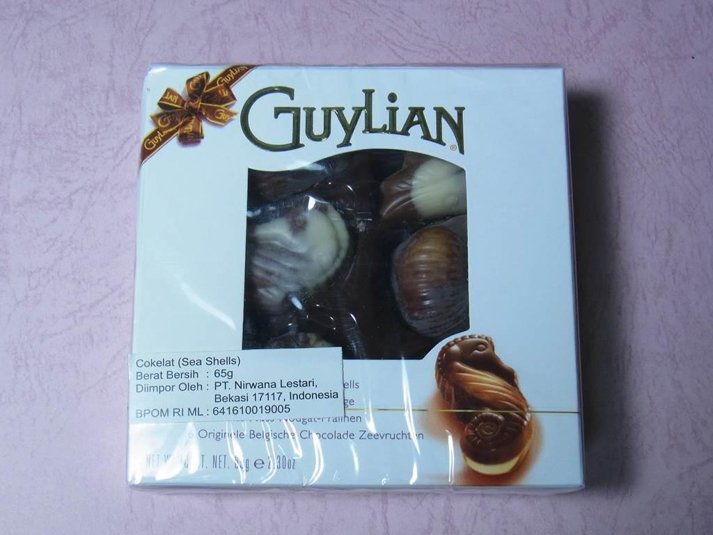 ジャカルタで買ったGuylianチョコレート