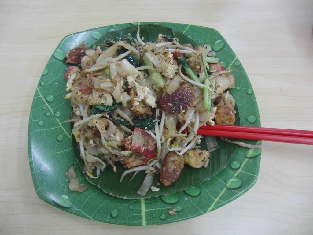ジャカルタで食べた、もちもちした焼き麺