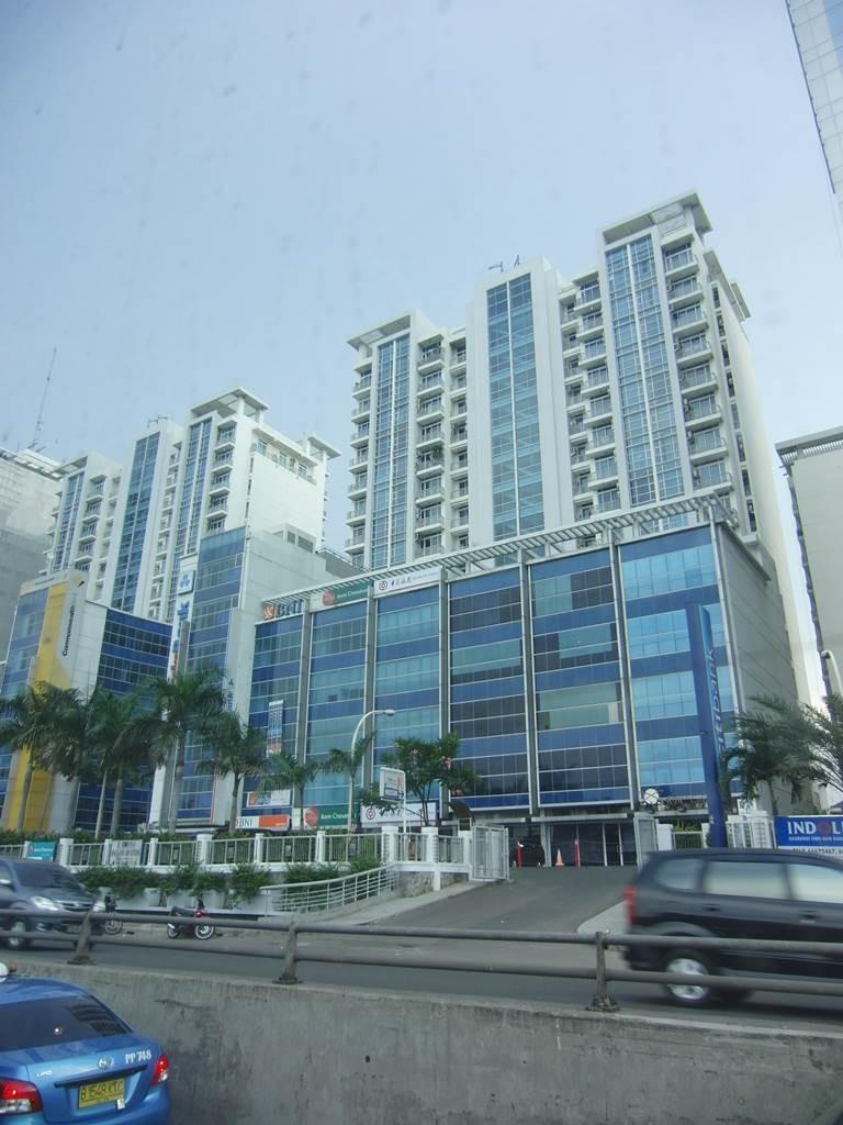 ジャカルタにある高層マンション群