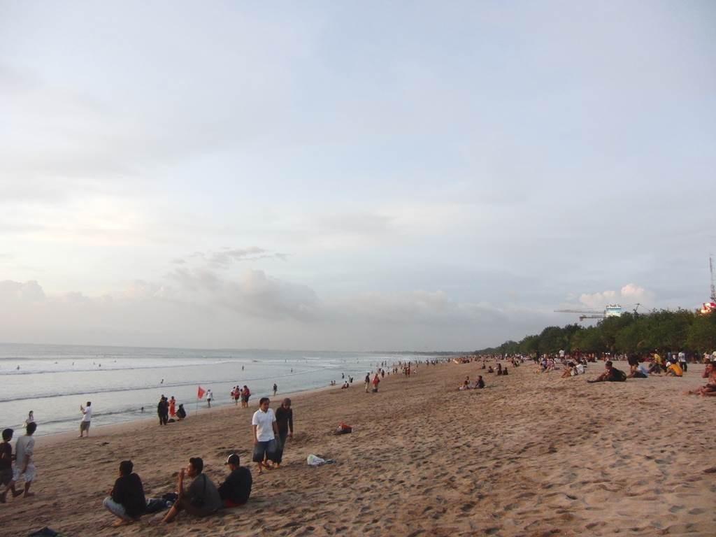 バリ島のクタビーチ2011