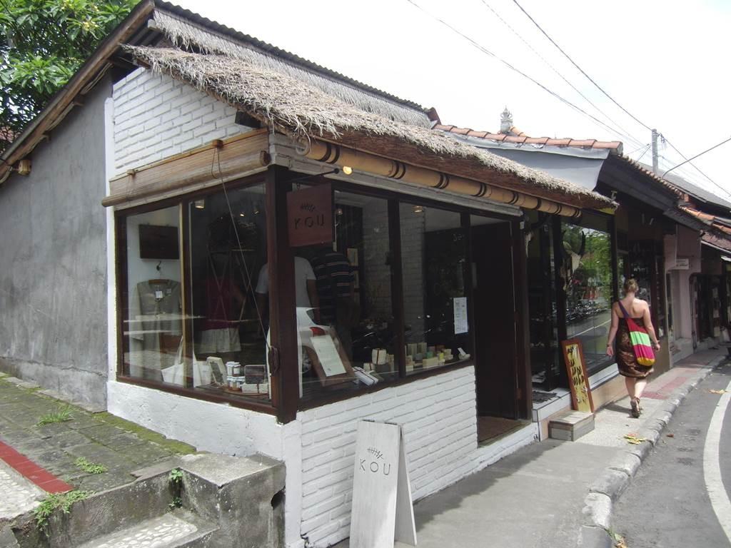 ウブドにあるKOU石鹸のお店
