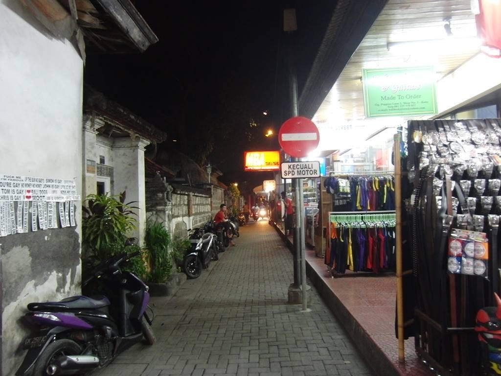 バリ島のストリート